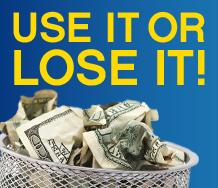 Use It or Lose It!