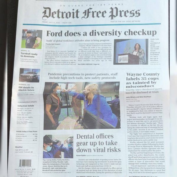 Caring Smiles Featured In The Detroit Free Press