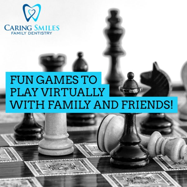 Fun Games To Play Virtually With Family and Friends!